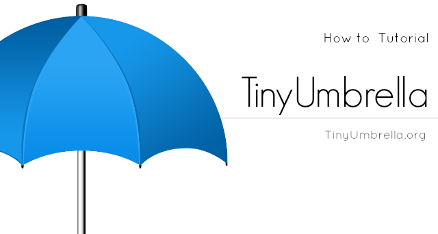 how to use tinyumbrella