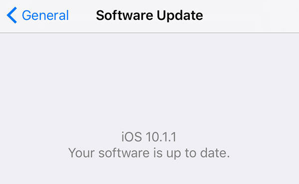 new iphone software update