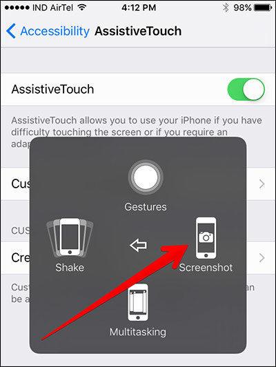 How to Fix iPhone iPad Screenshot Not Working on iOS 11/11.1