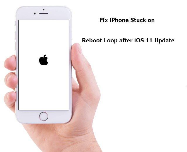 iphone stuck on update fix ios 11 boot loop on iphone without data loss 15475