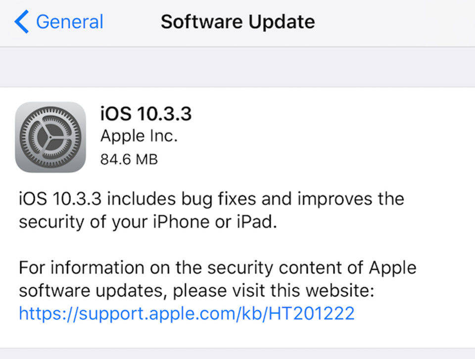 software update 10 3 3