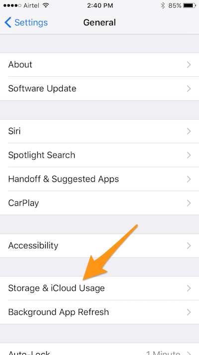 Solved ios 11 app stuck on installingloadingwaiting in iphone 6 storage and icloud usage ccuart Gallery