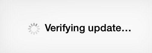 verification de la maj iphone