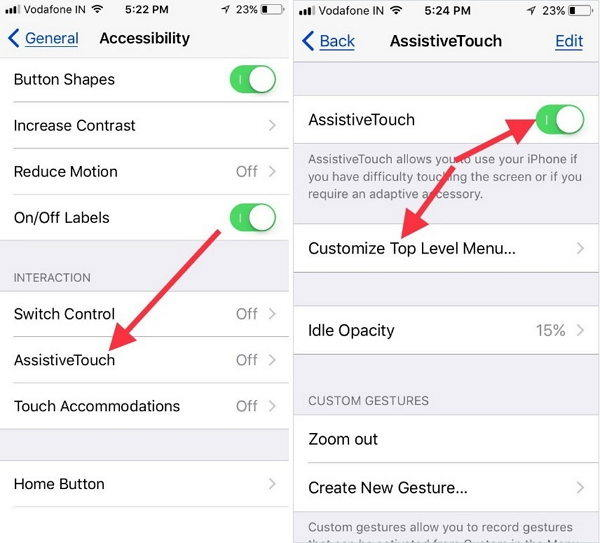 how to put iphone into recovery mode without power button