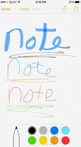 fix ios 9 drawing on notes not show up