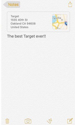 ios 9 notes app new features