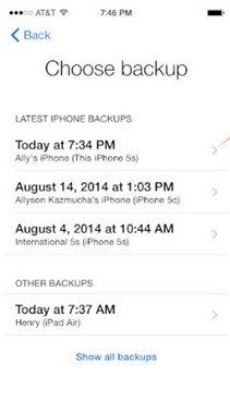 transfer contacts from iphone to iphone 6