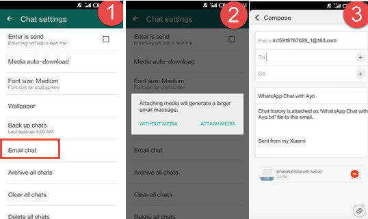 how to transfer whatsapp chats from android to iphone top 3 ways to transfer whatsapp messages from android to 9414