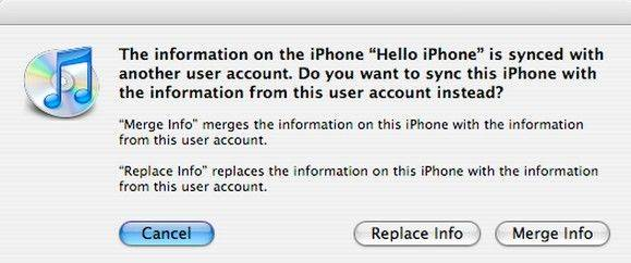 how to sync iphone to a new pc or mac