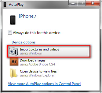 4 Easy Ways to Import Photos from iPhone to Windows 10/8.1/8/7