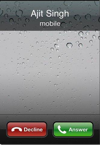 schedule fake calls on iphone