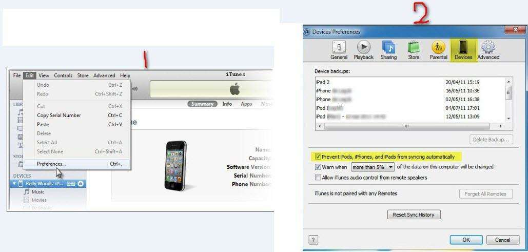retrieve iphone data from itunes