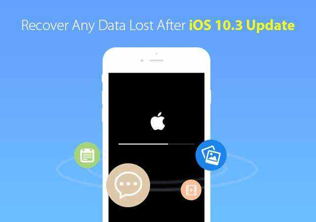 recover data after ios 10.3 update