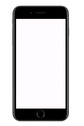 white screen