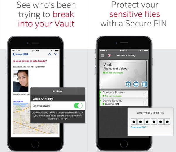 free iphone virus scan software mcafee