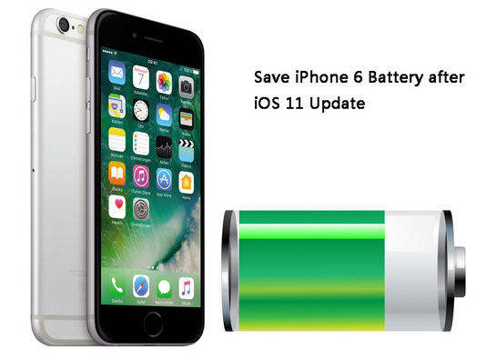 top 8 tips to save battery life on iphone 6s 6 ios 11 11 1. Black Bedroom Furniture Sets. Home Design Ideas