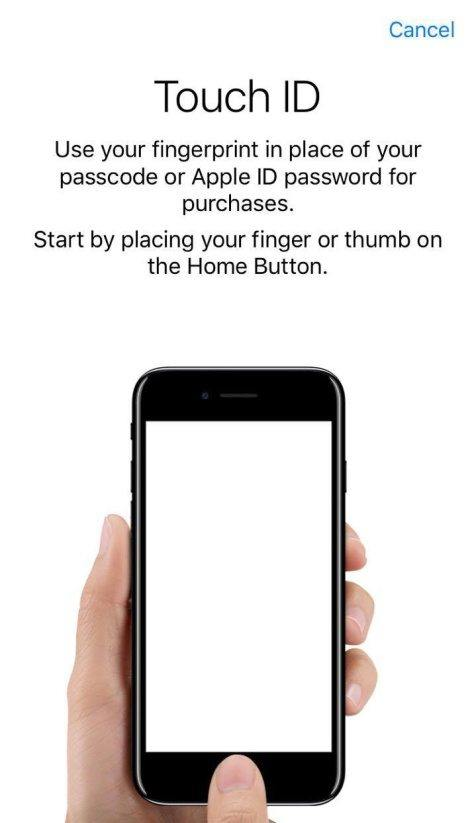 set touch id