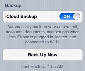 transfer data from old iphone to new iphone with icloud