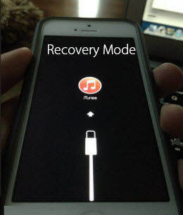 iphone stuck in recovery mode
