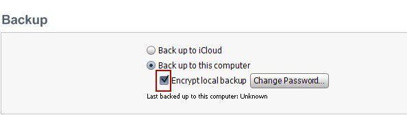 iphone backup entschlüsseln