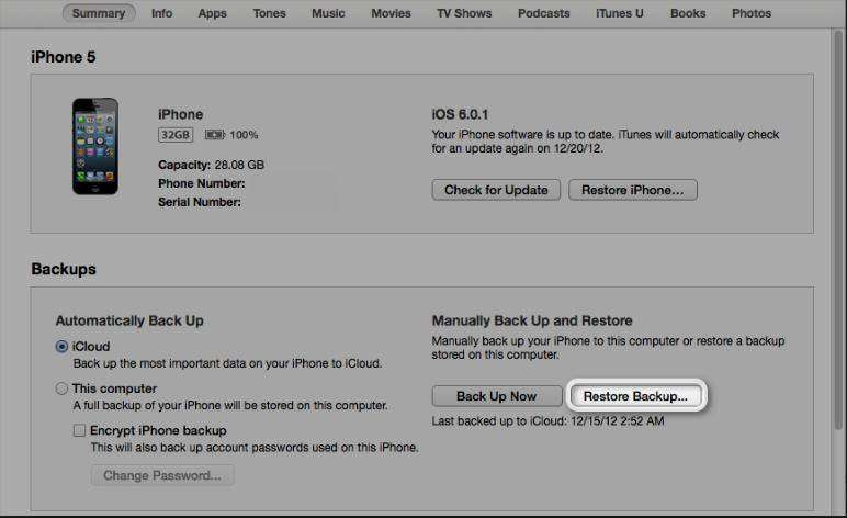iphone 5 file recovery mac