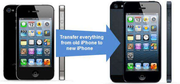 transfer data from old iphone to iphone 5s or iphone 5c