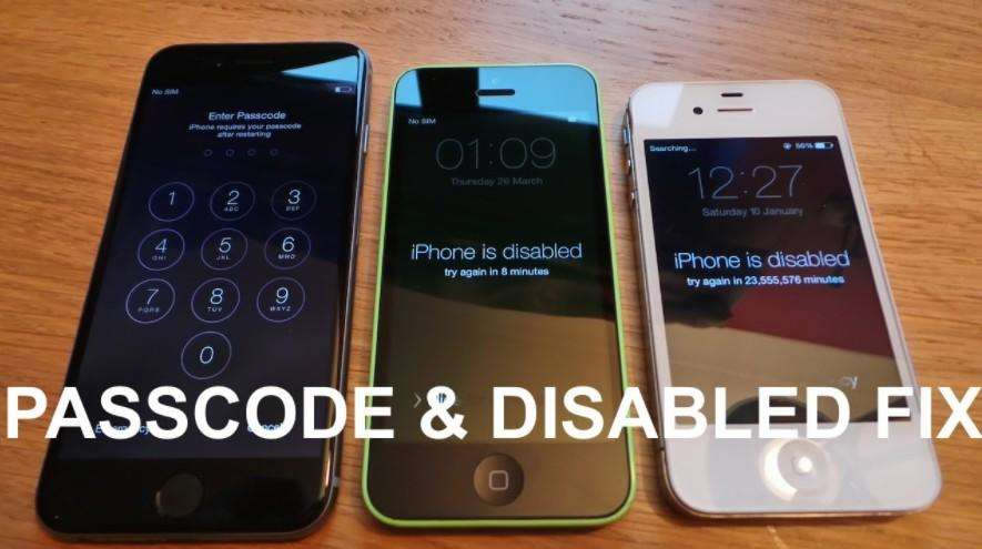 how to access iphone without passcode 2 solutions bypass iphone 8 8 plus passcode without itunes 18540