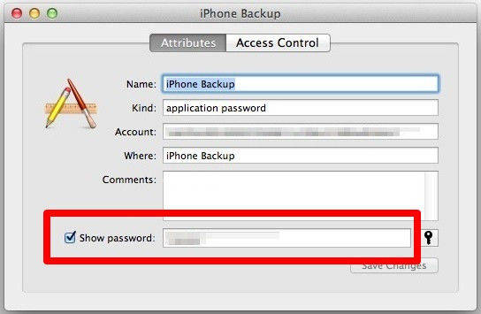 show password on iphone how to recover reset remove itunes backup password on mac os x 1868