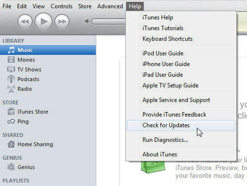 win itunes update