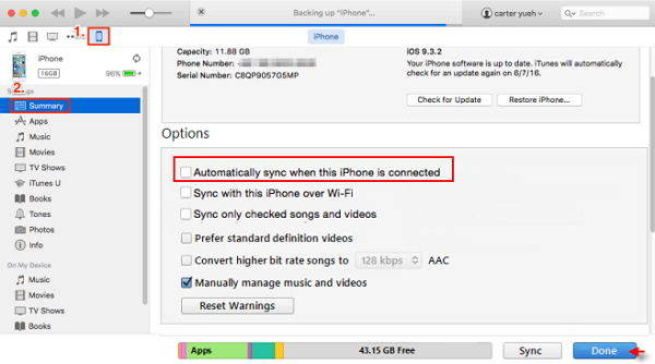 iphone won t sync top 6 ways to fix iphone won t sync with itunes itunes 12 5679