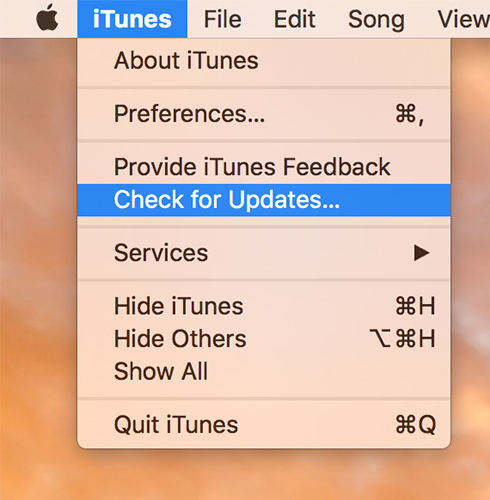 itunes 12.7 update is available on windows