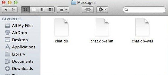 clear imessage chat history on mac os x