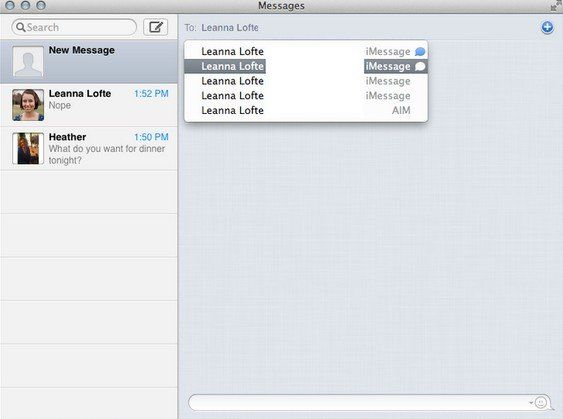 how to set up imessage on mac