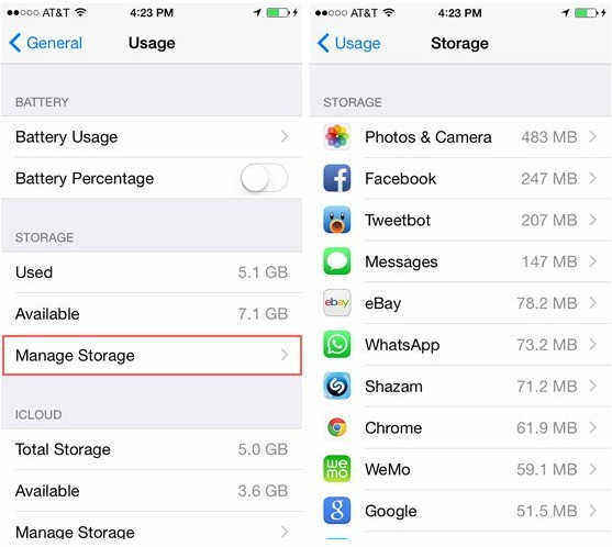 What Eats Up Iphone Storage