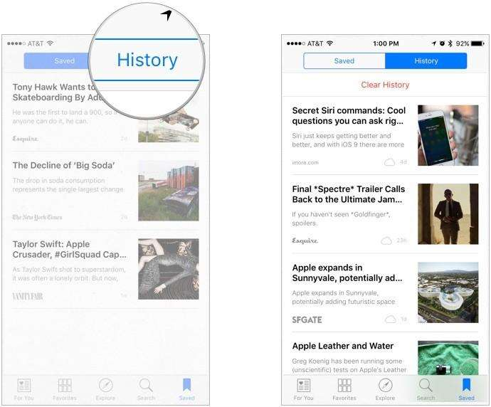 top 2 ways to clear apple news history on idevice